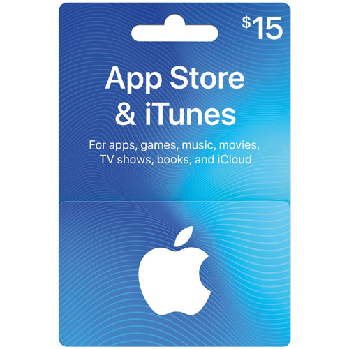 iTunes $15 Card - In-Store Only : iTunes Gift Cards - Best Buy Canada
