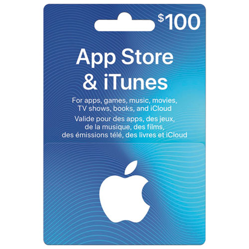 App Store Amp Itunes Gift Card 100 Itunes Gift Cards