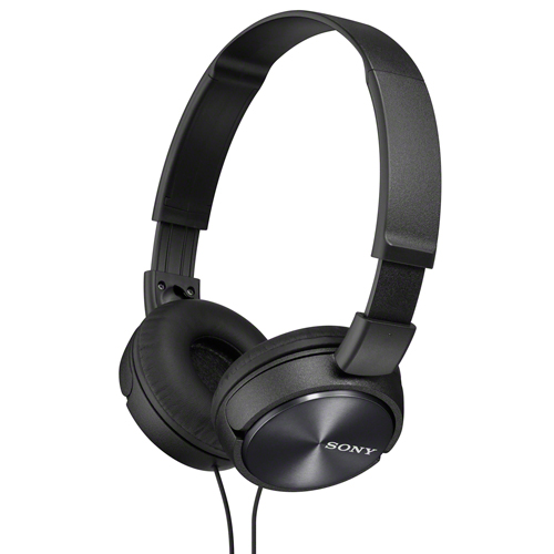 Sony On-Ear Headphones (MDRZX310APB) - Black