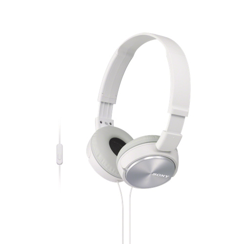 Sony On-Ear Headphones (MDRZX310APW) - White