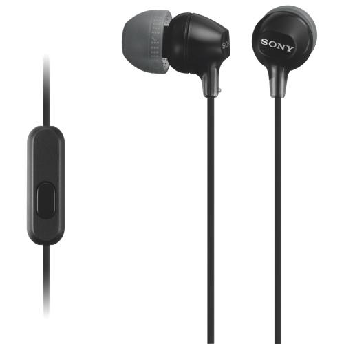 Écouteurs-boutons à isolation sonore de Sony (MDREX15APB) - Noir