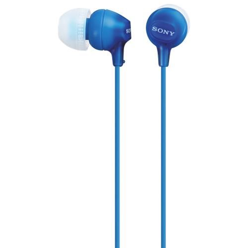 Sony In-Ear Sound Isolating Headphones (MDREX15LPLi) - Blue
