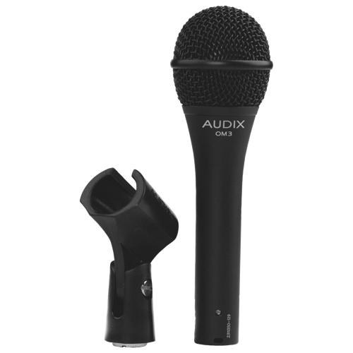 Microphone vocal dynamique d'Audix (OM3)