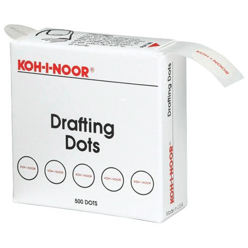 Autocollants ronds Koh-i-noor de Chartpak (CHA25900J01)