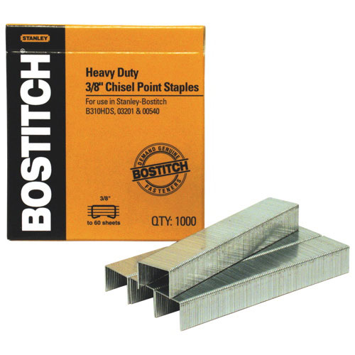 "Stanley Bostitch 3/8"" Heavy Duty Staples (BOSSB353/8-5M) - 5000 Pack"