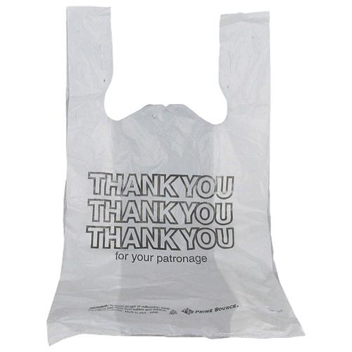 Sacs de magasinage Thank You de Bunzl (BNZ75001311) - 1000