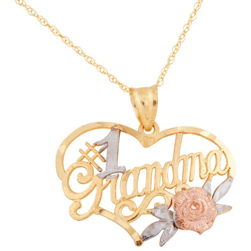 1 grandma 10k gold heart pendant necklaces best buy canada 1 grandma 10k gold heart pendant necklaces best buy canada aloadofball Image collections