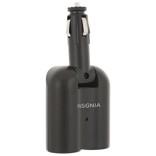 Insignia 12V DC Dual-Outlet Adapter (NS-2DC-C)
