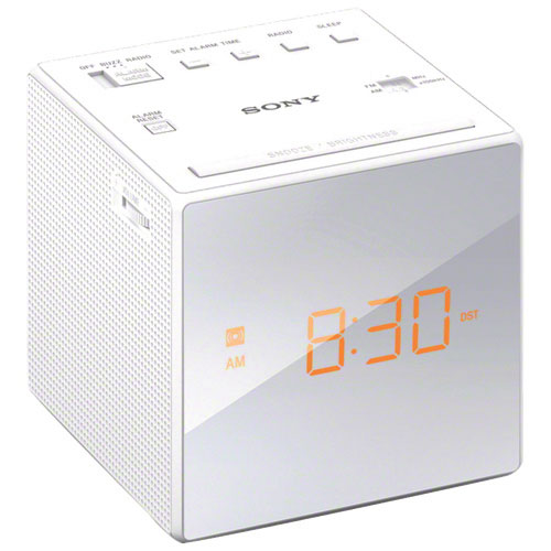 Sony Clock Radio - White