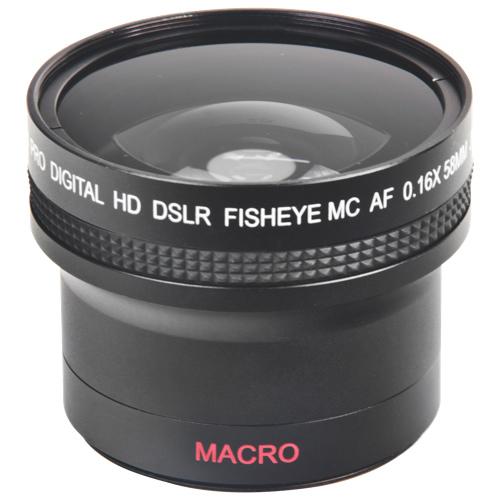 Bower Super-Wide 0.16X 58mm Fisheye Lens (VLB1658CAN)