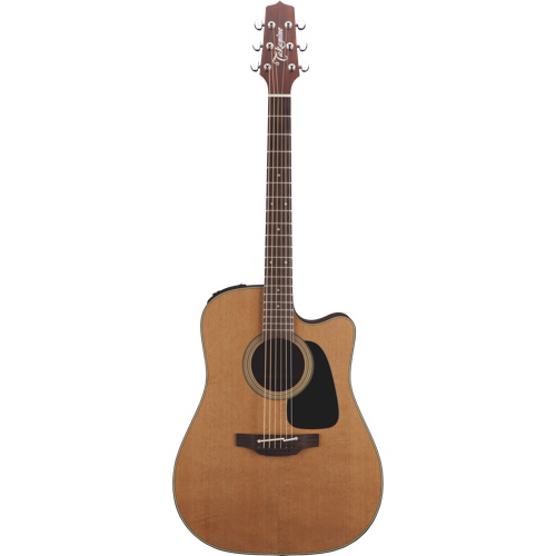 Takamine Pro Cutaway Dreadnought Acoustic-Electric Guitar (P1DC) - Natural