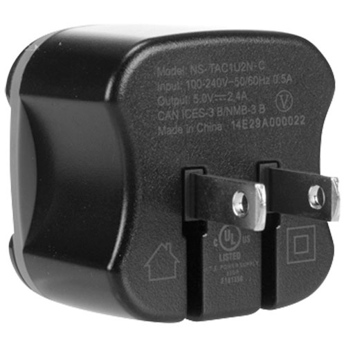 Insignia Micro USB Wall Charger With USB Port (NS-TAC1U2N-C) - Black