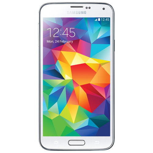 Fido Samsung Galaxy S5 16GB Smartphone - White - 2 Year Agreement