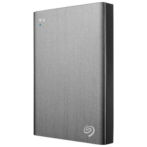 "Seagate Plus 2TB 2.5"" Wireless Portable External Hard Drive (STCV2000100)"