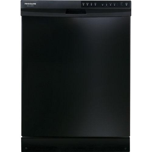 """Frigidaire Gallery 24"""" Tall Tub Built-In Dishwasher (FGBD2434PB) - Black"""