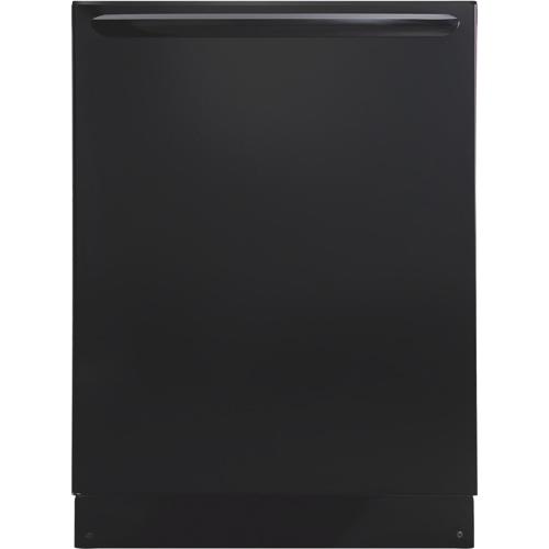 "Frigidaire Gallery 24"" 52 dB Tall Tub Built-In Dishwasher (FGID2466QB) - Black"