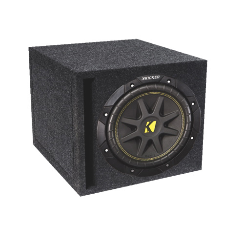 "Kicker Loaded 12"" Car Subwoofer (COMPD12SV)"