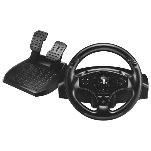 thrustmaster t80 racing wheel for ps4 ps3 ps4 specialty controllers best buy canada. Black Bedroom Furniture Sets. Home Design Ideas