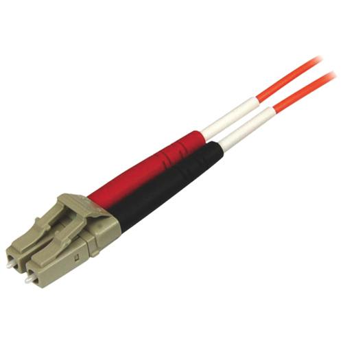 Câble à fibre optique LC-ST duplex 50/125 multimode de 2 m (6,5 pi) de StarTech (50FIBPLCST2)