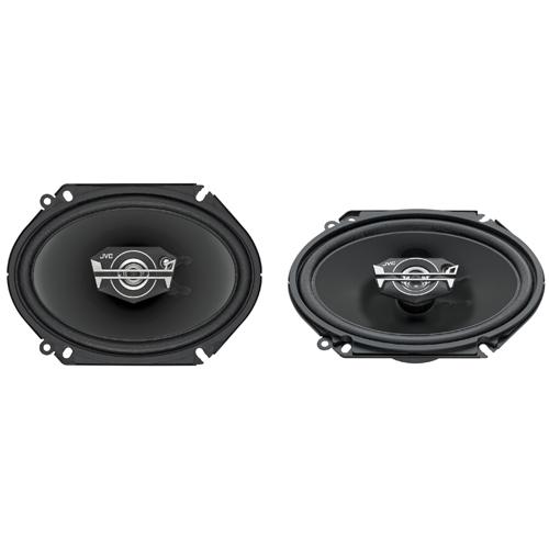 "JVC DRVN 6"" x 8"" 3-Way Coaxial Car Speaker (CS-V6837)"