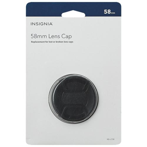 Insignia 58mm Lens Cap (NS-LC58-C)