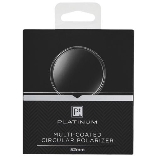 Filtre polarisant de 52 mm de Platinum Series pour appareil photo (PT-MCCP52-C)