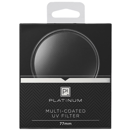 Platinum Series 77mm Camera UV Filter (PT-MCUVF77-C)