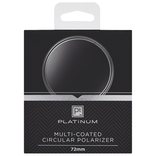 Platinum Series 72mm Camera Polarizing Filter (PT-MCCP72-C)