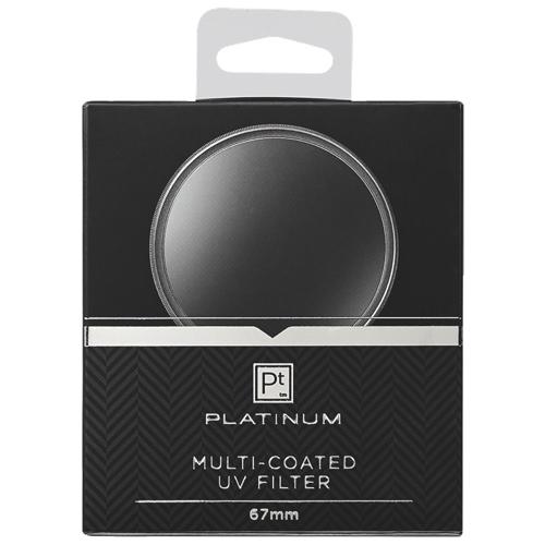 Filtre UV de 67 mm série Platinum pour appareil photo (PT-MCUVF67-c)