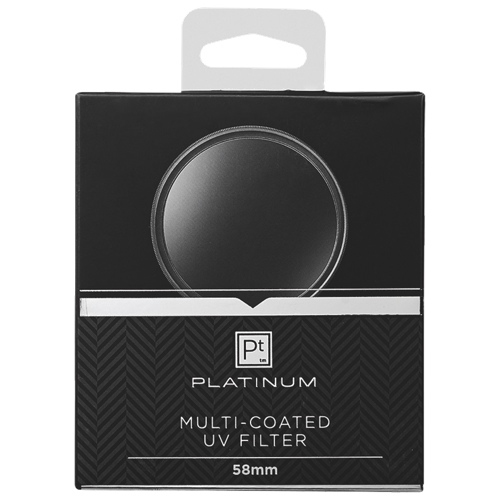 Platinum Series 58mm Camera UV Filter (PT-MCUVF58-C)