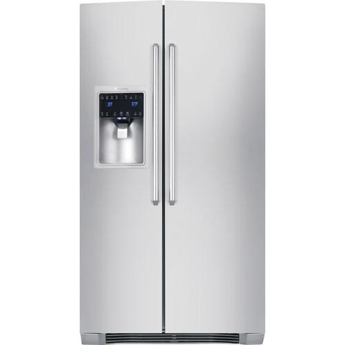 Réfrigérateur à congélateur juxtaposé 22,7 pi3 36 po d'Electrolux (EI23CS35KS) - Acier inoxydable