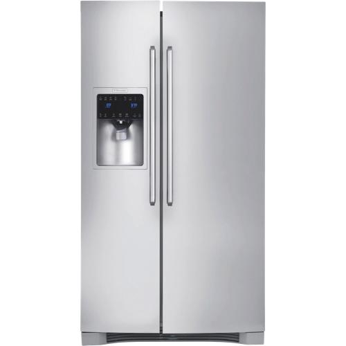 Réfrigérateur à congélateur juxtaposé de 22,6 pi3 36 po d'Electrolux (EI23CS65KS) - Inox
