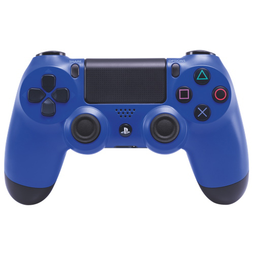 Manette sans fil DualShock 4 de PlayStation 4 - Bleu