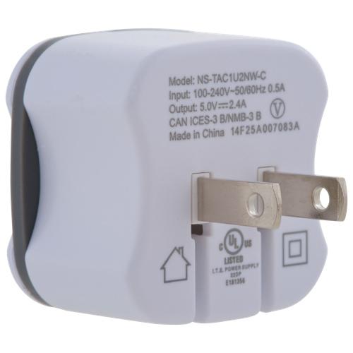 Insignia USB Wall Charger (NS-TAC1U2NW-C)