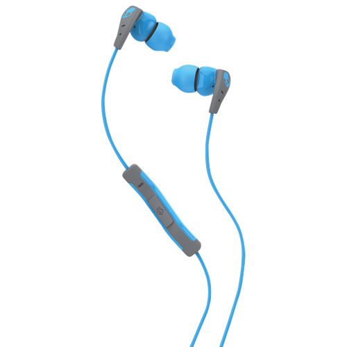 Skullcandy Method In-Ear Sound Isolating Headphones - Blue/Grey