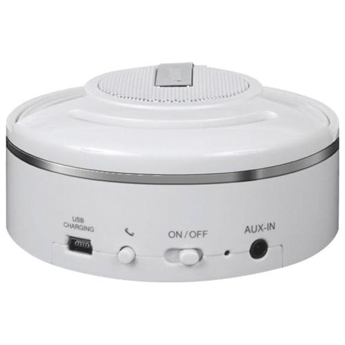 Haut-parleur sans fil Bluetooth HangOn d'iSound - Blanc