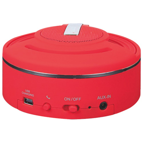 iSound HangOn Bluetooth Wireless Speaker - Red