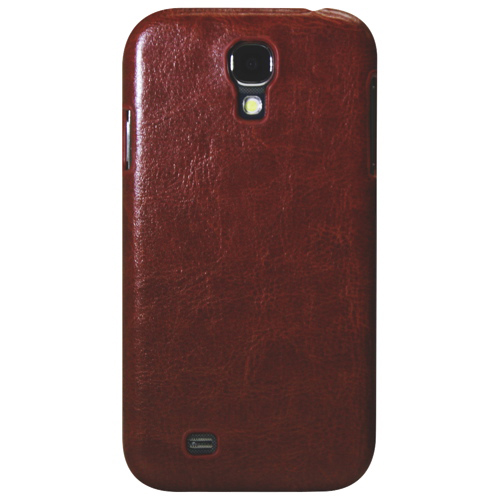 Exian Galaxy S4 Fitted Hard Shell Case - Brown