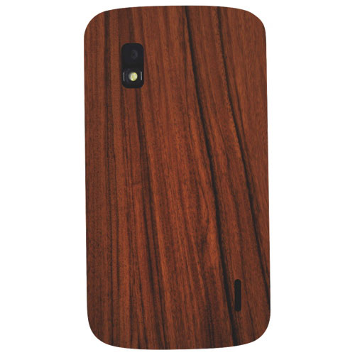 Exian Nexus 4 Fitted Hard Shell Case - Brown