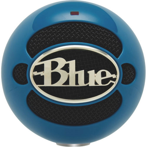 Blue Microphones Snowball USB Microphone - Neon Blue