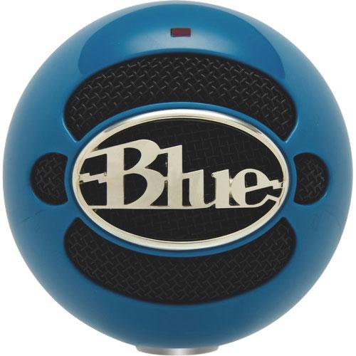 Microphone USB Snowball de Blue Microphones - Bleu néon