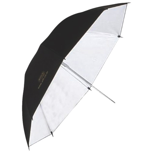 "Aurora Lighting 46"" Silver Photography Umbrella (U 115 A)"