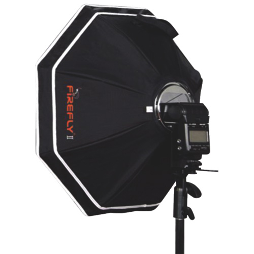 "Aurora Lite Bank Firefly 2 26"" Silver-Lined Octagonal Softbox Kit (FBO265)"