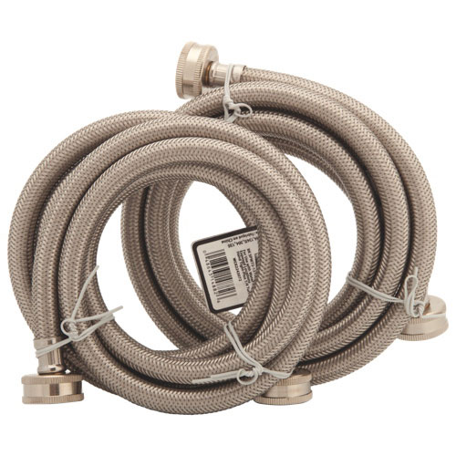 partsmaster 6 ft washer hoses pmwss6 2 pack other laundry accessories best buy canada
