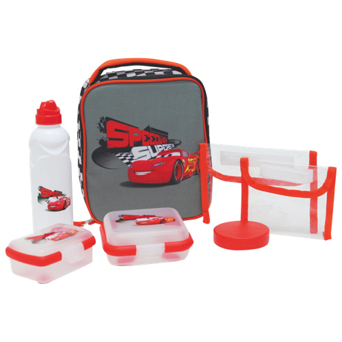 Disney Cars Upright Lunch Set - Red