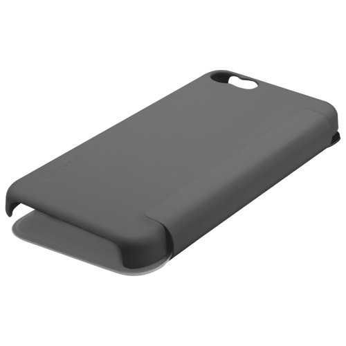 Muvit iPhone 5c Fitted Hard Shell Easy Folio Case - Black