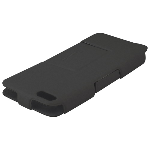 Muvit iPhone 5c Fitted Hard Shell Flip Folio Case - Black