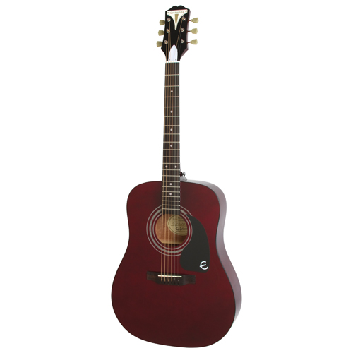 Epiphone PRO-1 Acoustic/Electric Guitar - Wine Red