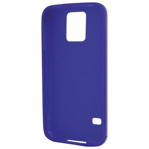 Étui en gel d'Affinity pour Galaxy S5 - Bleu