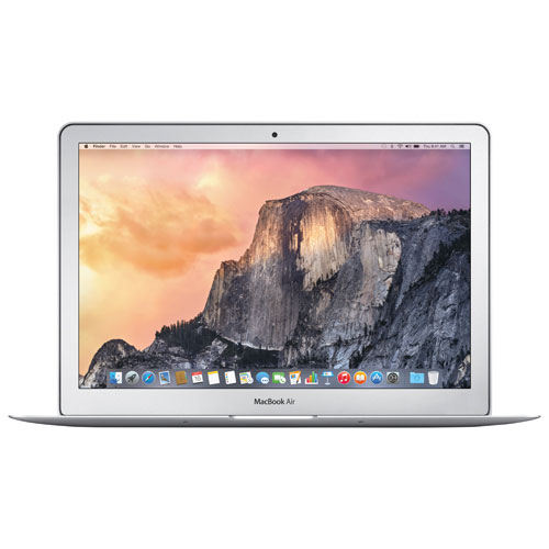 MacBook Air d'Apple 13,3 po, 128 Go avec processeur Core i5 à 1,4 GHz d'Intel - Argenté - Anglais